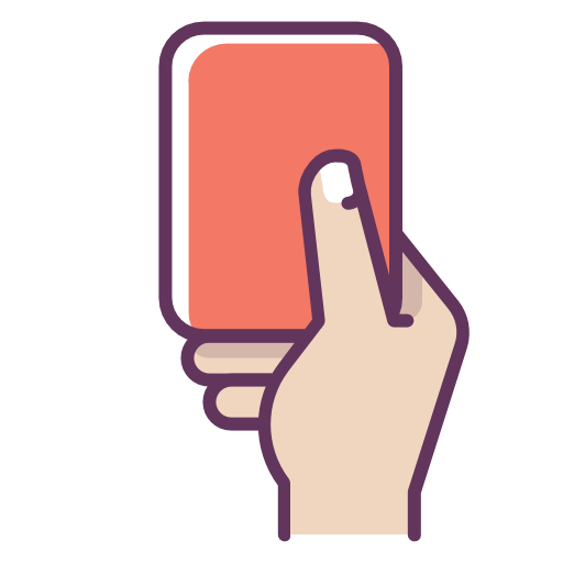Football Red Card Referee Icon Free Of Football Icons