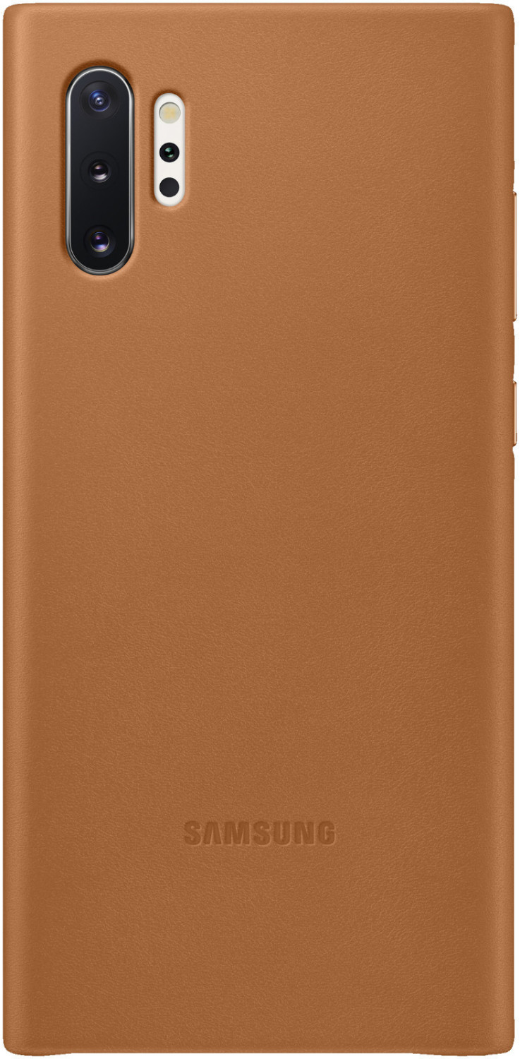 Samsung Leather Wallet Cover (Galaxy Note 10+/Note 10+ 5G) camel