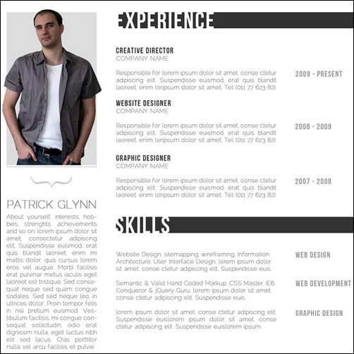 35 best cv and résumé templates idevie