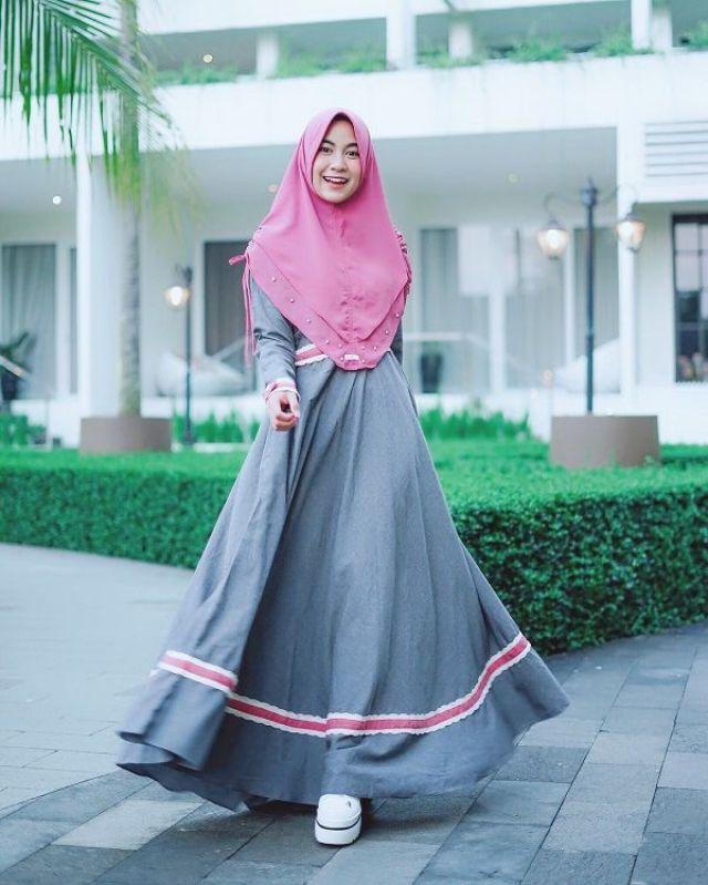 Totalitas Berhijrah, Ini 10 Style Anisa Rahma dengan Hijab Syar'i