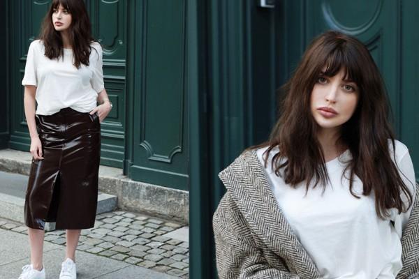Contoh Model Rambut Segi Panjang Tampak Depan Dan Belakang Terbaru