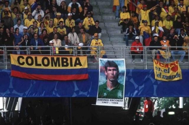 Kegagalan Kolombia di Piala Dunia 1994 dan Pembunuhan Andres Escobar