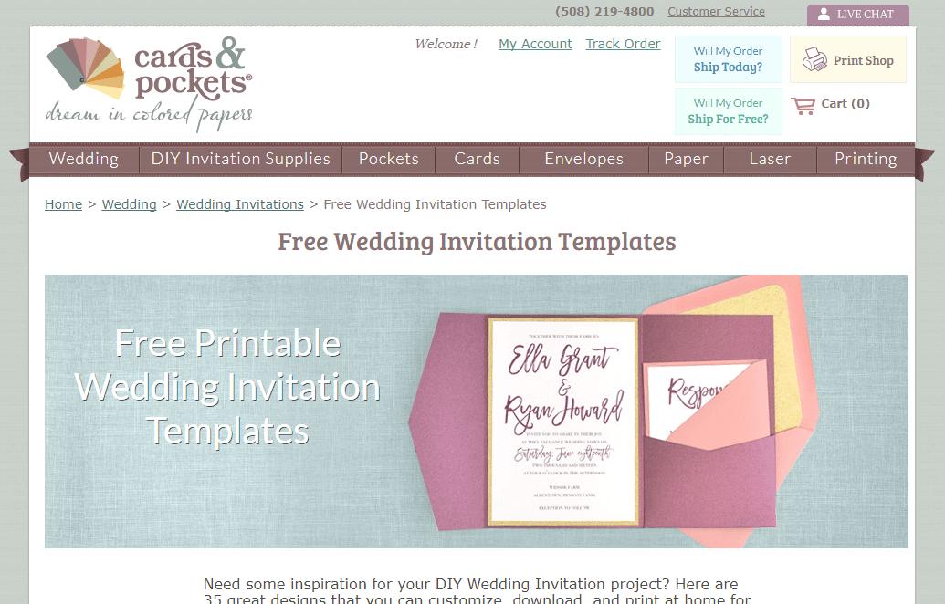 10 Website Gratis Untuk Desain Undangan Pernikahan