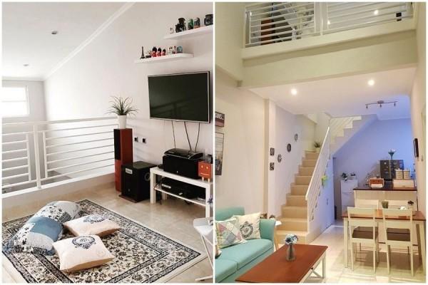 Bikin Takjub Desain Cerdas Rumah 2 Lantai Di Lahan 72 M