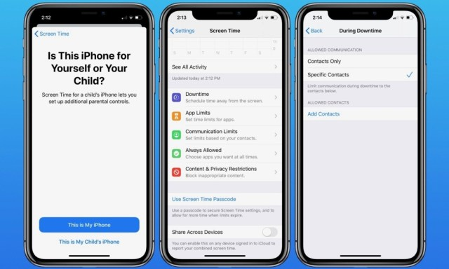 Here's How iOS 13 Will Let You Limit Who Your Kids Can Chat