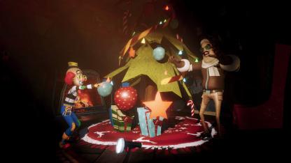 В Secret Neighbor проходит специальное рождественское событие