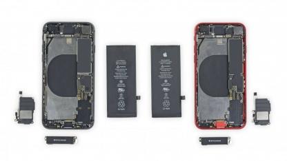 Специалисты iFixit назвали совместимые компоненты у iPhone SE и iPhone8