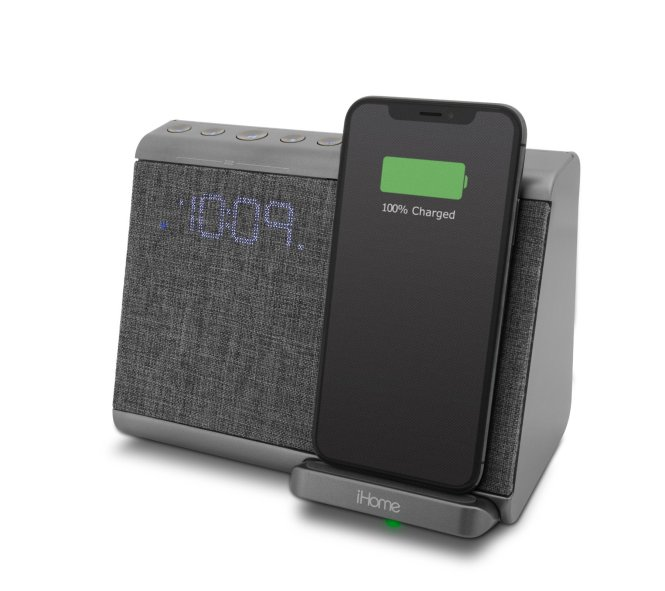 Bluetooth Alarm Clock With Usb Charging