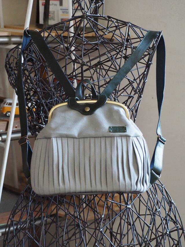 『Mさまオーダー』倉敷帆布 バルーンリュック20 No.2051 | iichi ハンドメイド・クラフト作品・手仕事品の通販