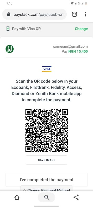 How Can I Get JUPEB Form - Pay With Visa QR