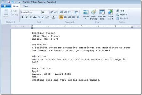Resume Online Creator Free. Free Resume Online Builder Build