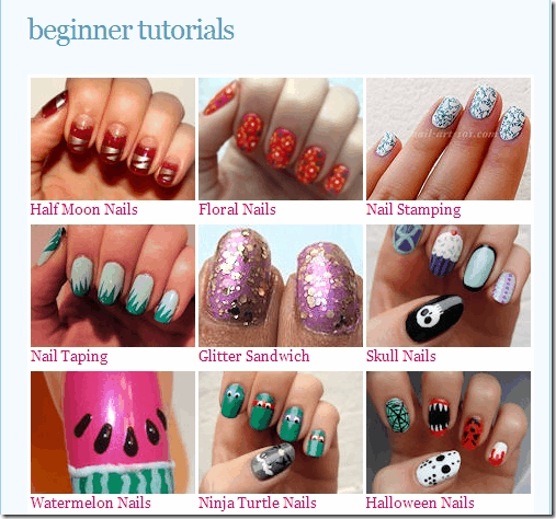 4 Nail Art Sites To Learn Techniques