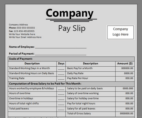 irish payslip template payslips p45 p60 sa302 and other documents – Fake Payslip Template