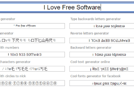 Cool Letters Generator For Facebook Inviletter