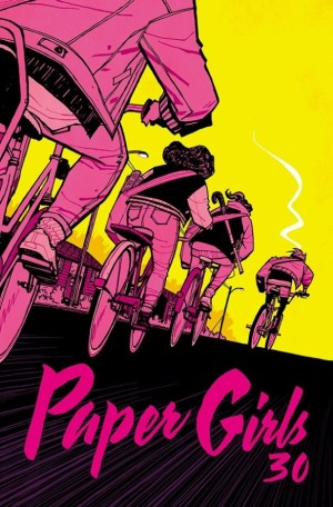 Image result for paper girls #30