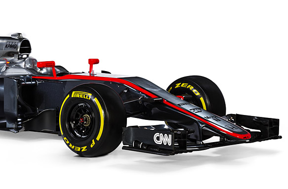 McLaren MP4-30 2015 launch
