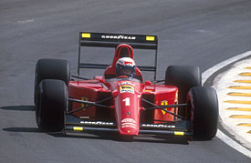 Image result for 1990 brazilian grand prix prost