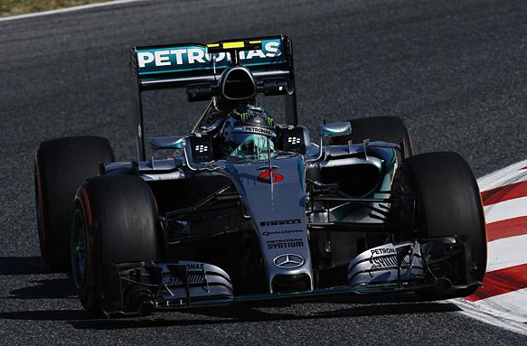Nico Rosberg, Spanish GP 2015