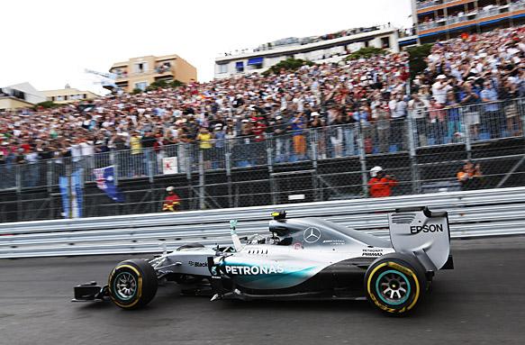 Nico Rosberg, Monaco GP 2015
