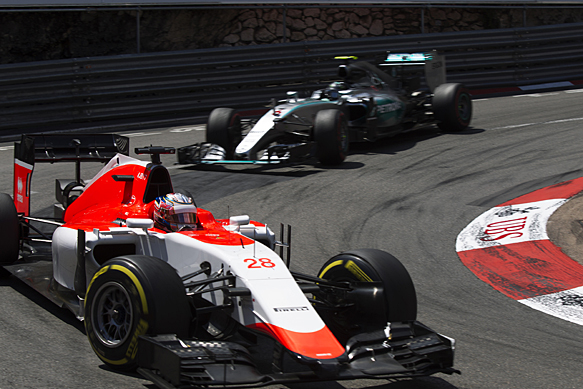 Will Stevens, Manor, Monaco GP 2015