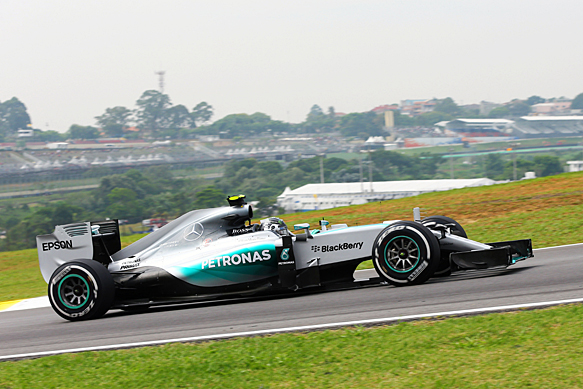 Nico Rosberg, Mercedes, Brazilian GP 2015, Interlagos
