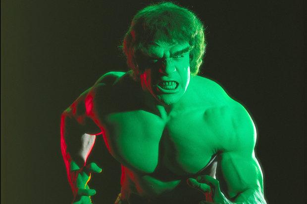 Lou Ferrigno als Der Unglaubliche Hulk