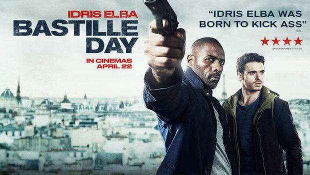 Bastille Day film poster