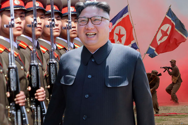 North Korea Kim Jong un Donald Trump world war three missile test