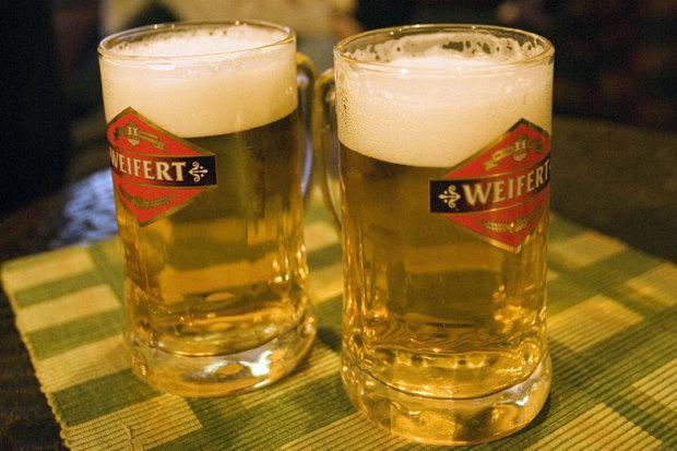 Beer in Belgrade, Serbia