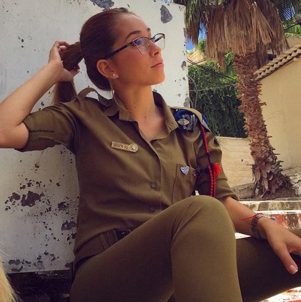 Israeli army babe Kim Mellibovsky Instagram pictures sexy