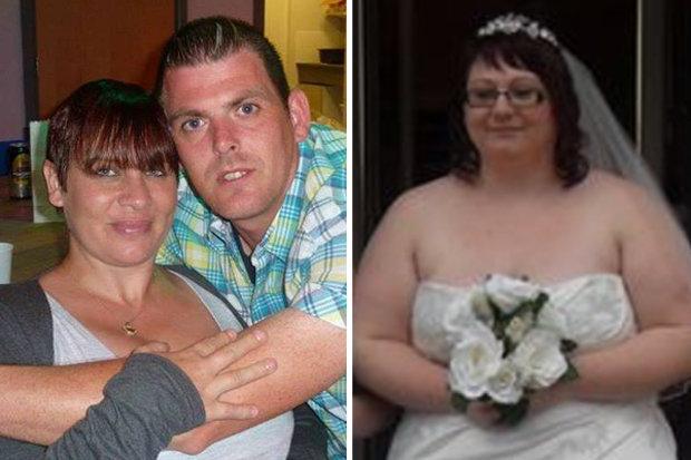 Lorraine avec Kenny et Kim le jour de son mariage