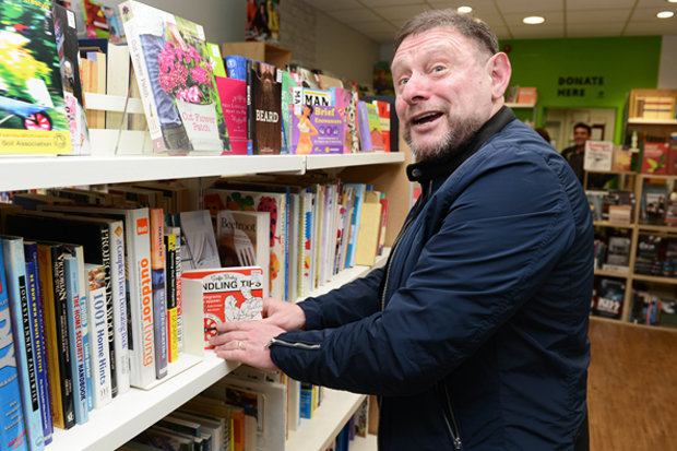 Happy Mondays Star Shaun Ryder Spotted Working In Charity