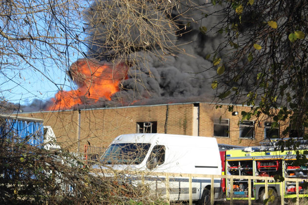 Ponders End fire