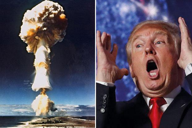 Donald Trump Nuclear Explosion