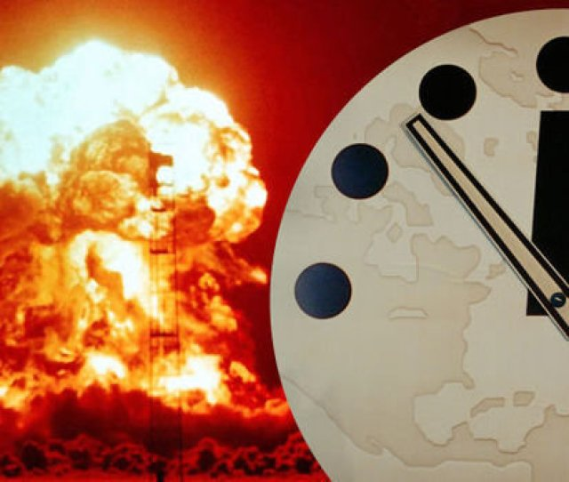 Will The Doomsday Clock Move Closer To The End Of The World