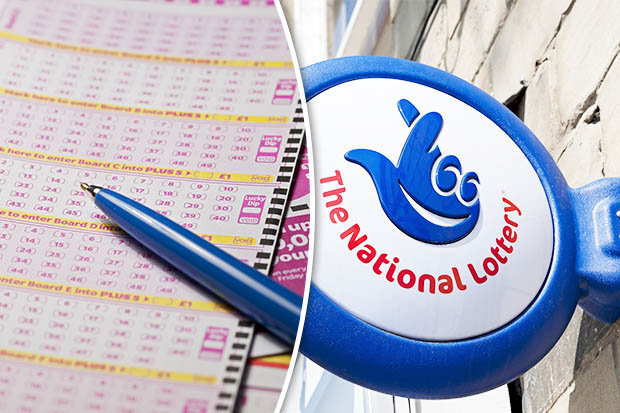 The National Lottery tickets
