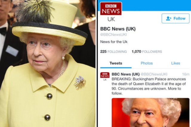 Resultado de imagen para bbc queen elizabeth death
