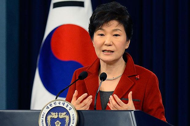 Park Geun-hye as President of South Korea