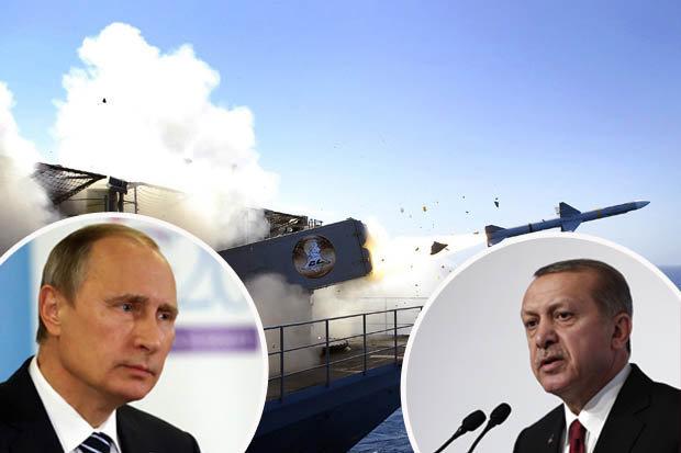 Putin and Tayyip Erdogan