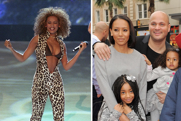 Mel B  Spice Girl s daughter Angel claims she saw Stephen Belafonte     Mel B Stephen Belafonte Angel