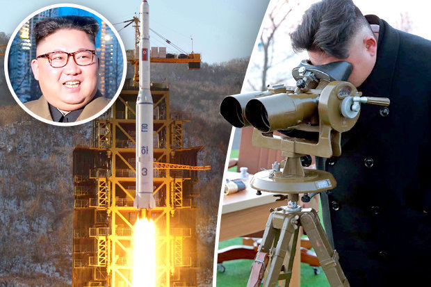 Kim Jong-un has witnessed the test of a new high-thrust rocket engine in North Korea