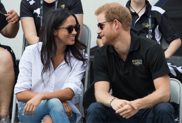 Harry and Meghan at Invictus Games