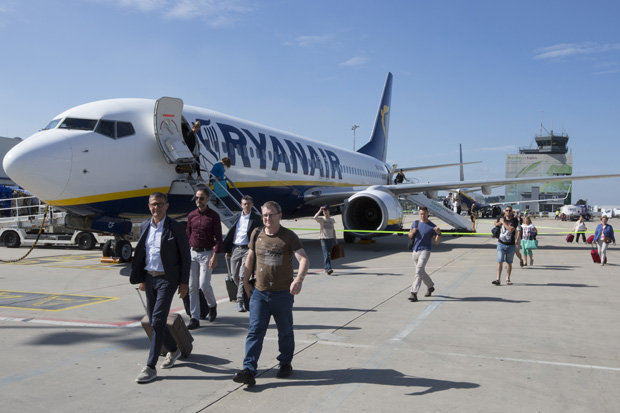 Ryanair could be forced to put punters on trains