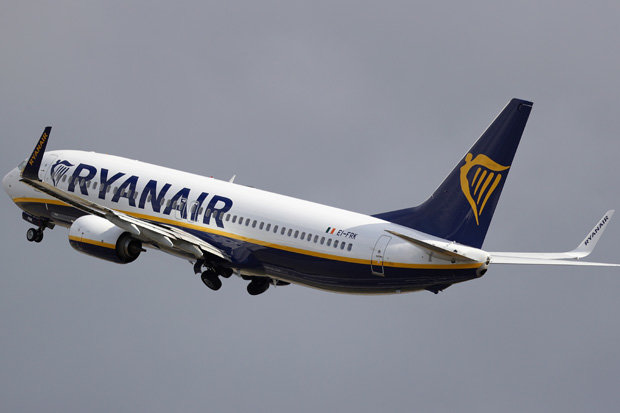 Ryainair has reportedly been hit with a £1bn bill
