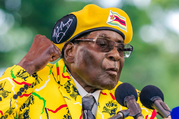 Robert Mugabe's reign of terror ended on Tuesday