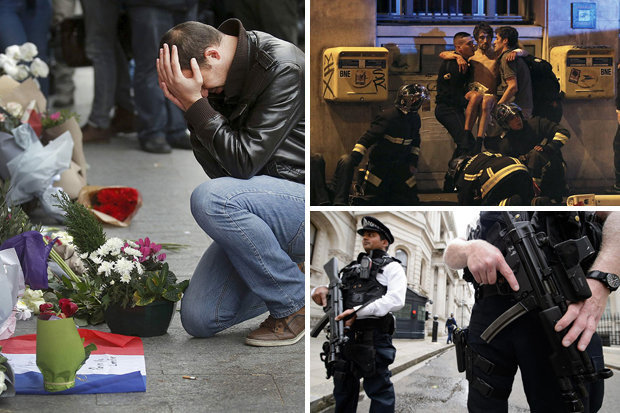 Image result for London and paris terror attack pictures