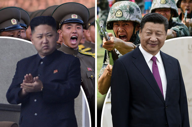Image result for kim jong un  and China's Xi
