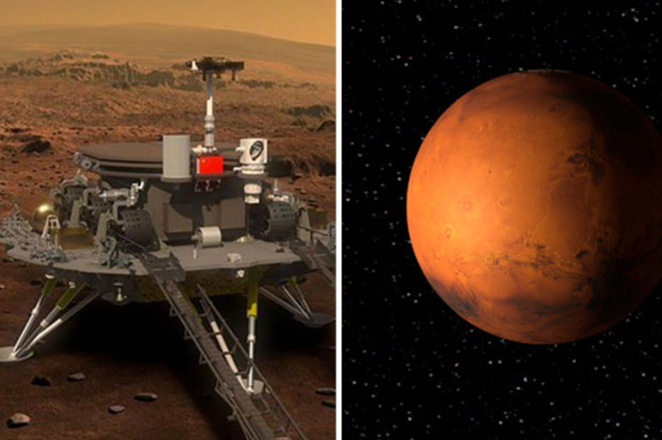 China S Red Planet Rover Revealed But Us Fear 2020 Mars