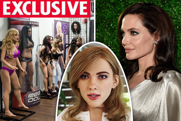 Angelina Jolie and sex dolls