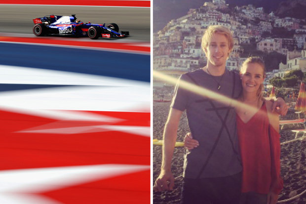 Brendon Hartley is racing for Toro Rosso